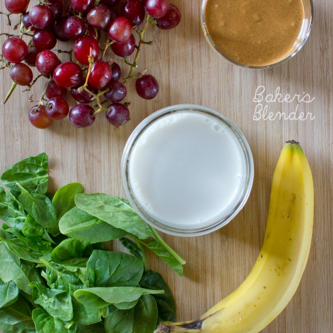 Almond Butter and Jelly smoothie
