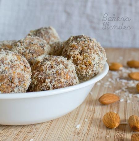 Almond-Peanut Butter Coconut Balls