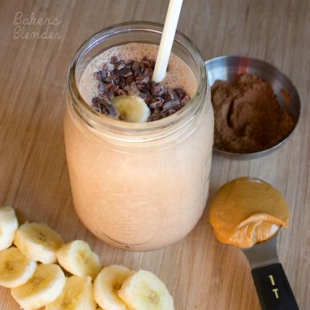 Choc-PB-banana-smoothie